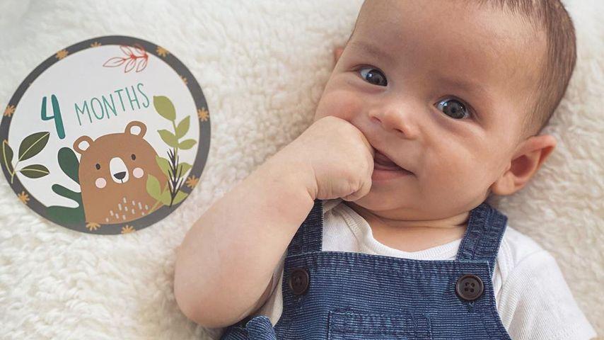 Jenna Dewans Sohn Callum Michael Rebel im Juni 2020