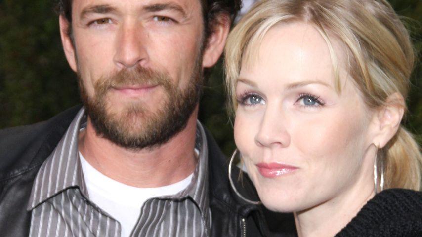 Jennie Garth und Luke Perry
