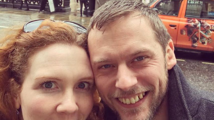 Jennie McAlpine und Chris Farr in London
