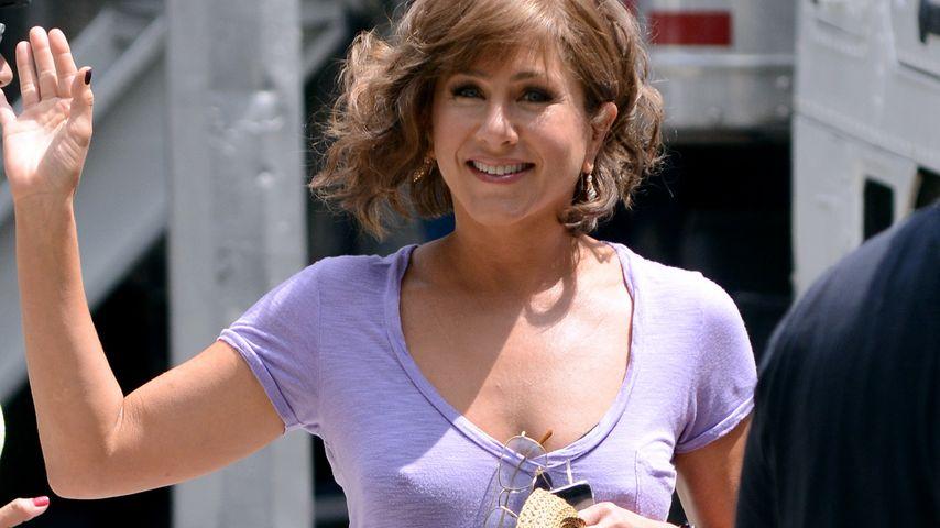 BH vergessen! Nippel-Alarm bei Jennifer Aniston