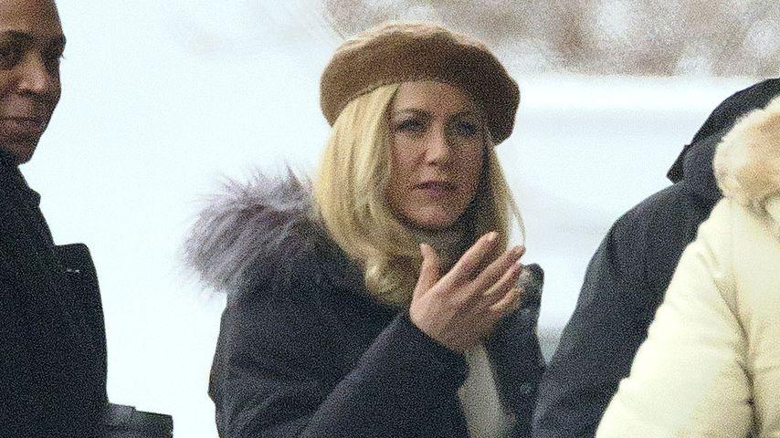 Platinblond! Jennifer Aniston mit neuer Frisur