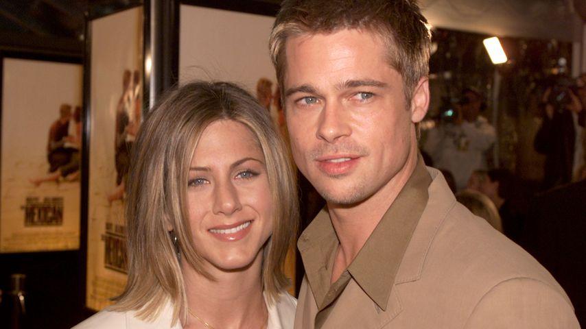 Jennifer Aniston und Brad Pitt, 2001