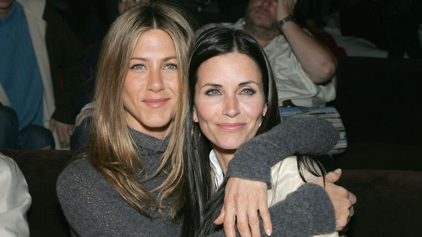"Jennifer Aniston und Courteney Cox, ehemalige ""Friends""-Kolleginnen"
