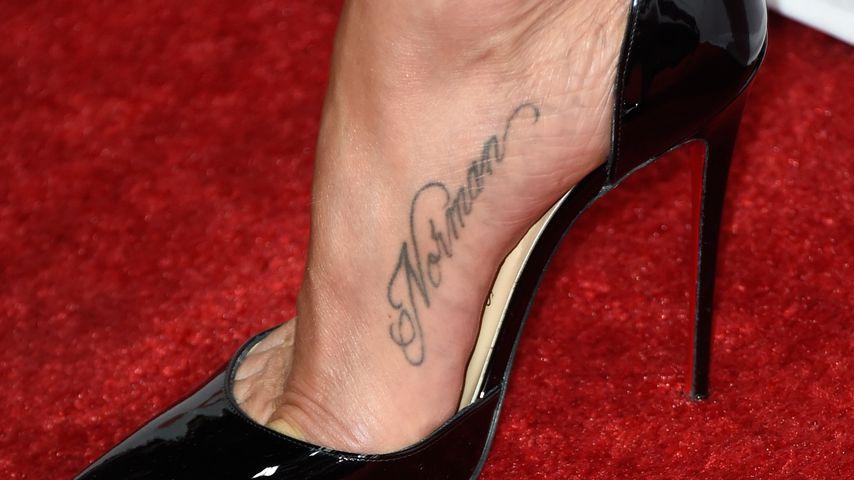 Tattoo von Jennifer Aniston
