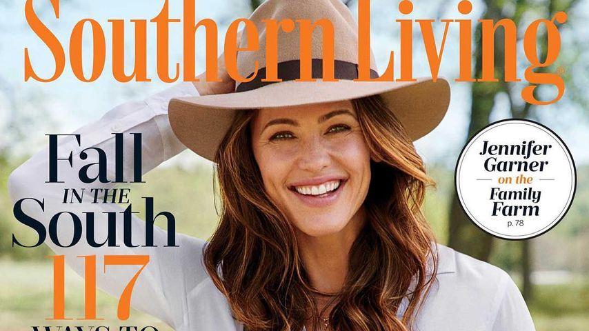 Jennifer Garner auf dem Cover von Southern Living