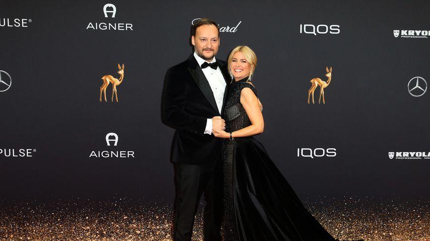 Felix Moese und Jennifer Knaeble bei den Bambi Awards 2019
