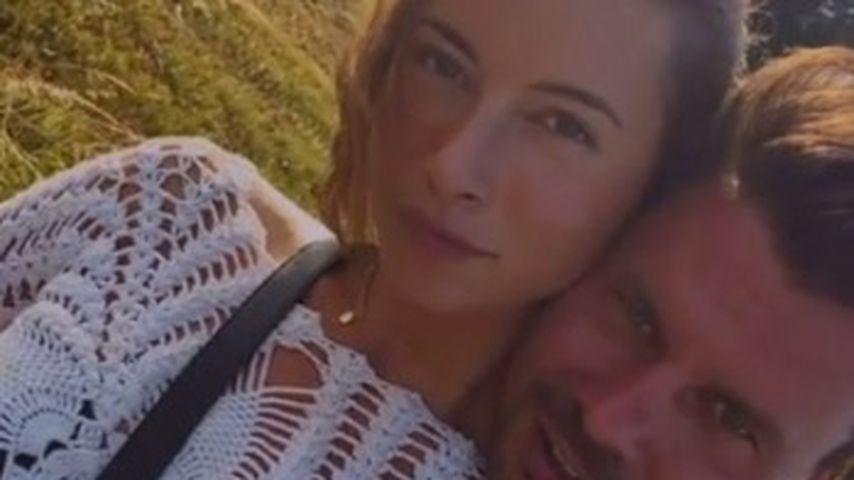 Jennifer Lange und Darius Zander im Juli 2021