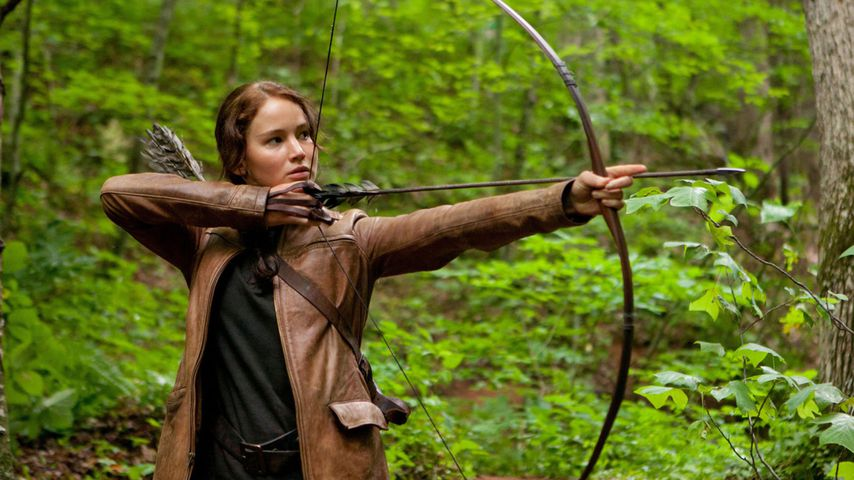 "Jennifer Lawrence als Katniss Everdeen in ""Die Tribute von Panem - The Hunger Games"""