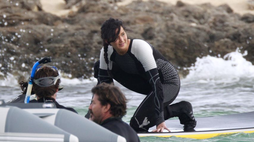 Seekrank! Jennifer Lawrence kotzte beim Dreh