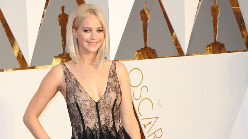 Nackte Haut & Spitze: So sexy war Jen Lawrence' Oscars-Look
