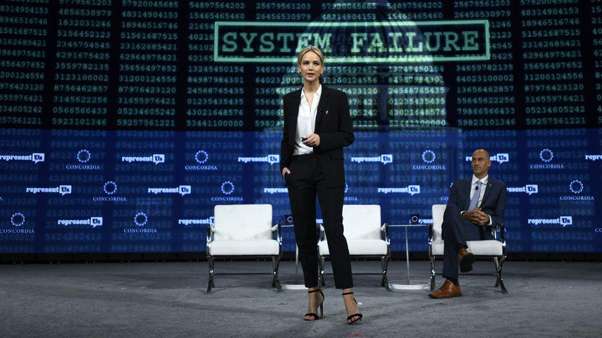 Jennifer Lawrence auf einer Tagung in NYC im September 2018