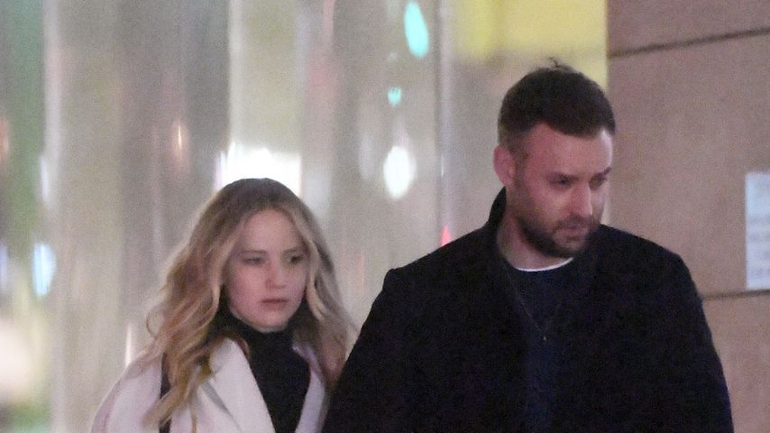 Jennifer Lawrence und Cooke Maroney im Februar 2019