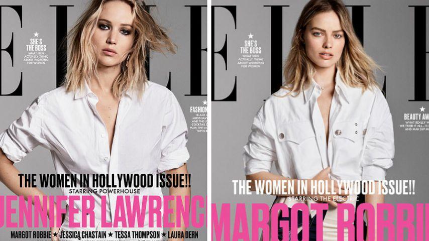 Twin-Style: Verwechslungsgefahr bei J.Law & Margot Robbie