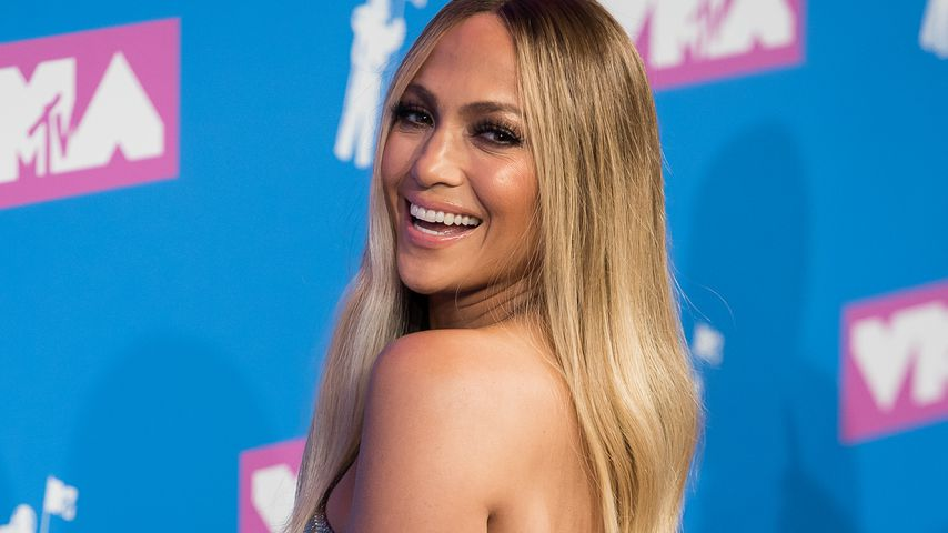 Jennifer Lopez 2018 bei den MTV Music Video Awards in New York
