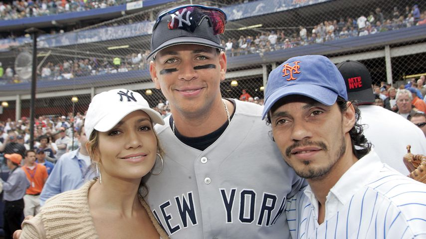 Jennifer Lopez, Alex Rodriguez, Marc Anthony, 2005