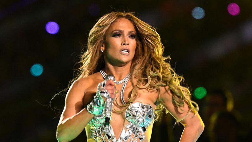 Jennifer Lopez bei der Super Bowl Halftime Show, 2020