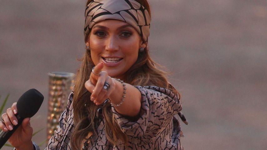"""""""Wetten, dass?"""": Bei Jennifer Lopez war's luftig!"""
