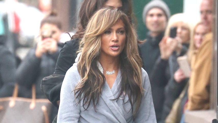 """Jennifer Lopez am Set von """"Hustlers"""""""