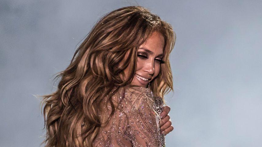 Jennifer Lopez bei ihrem ersten Konzert in Ägypten