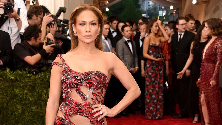 Jennifer Lopez auf der MET-Gala 2015