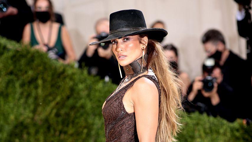 Jennifer Lopez bei der Met Gala 2021