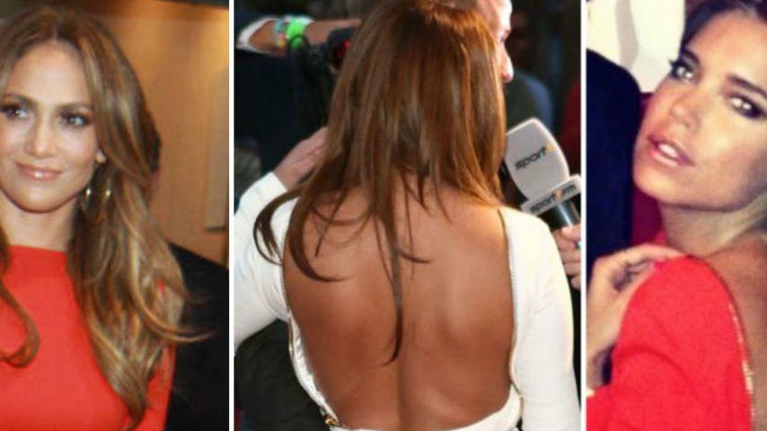 Sexy Back! Wessen Rücken überzeugt in DEM Kleid?