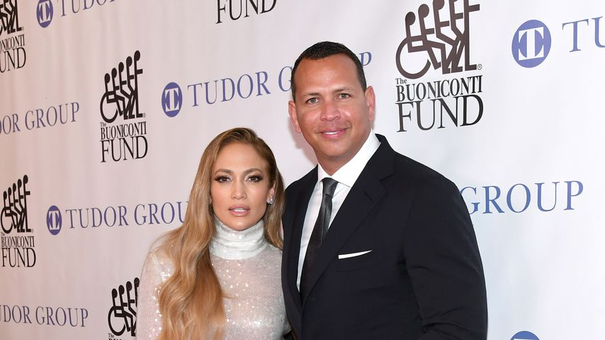 Jennifer Lopez und Alex Rodriguez in New York