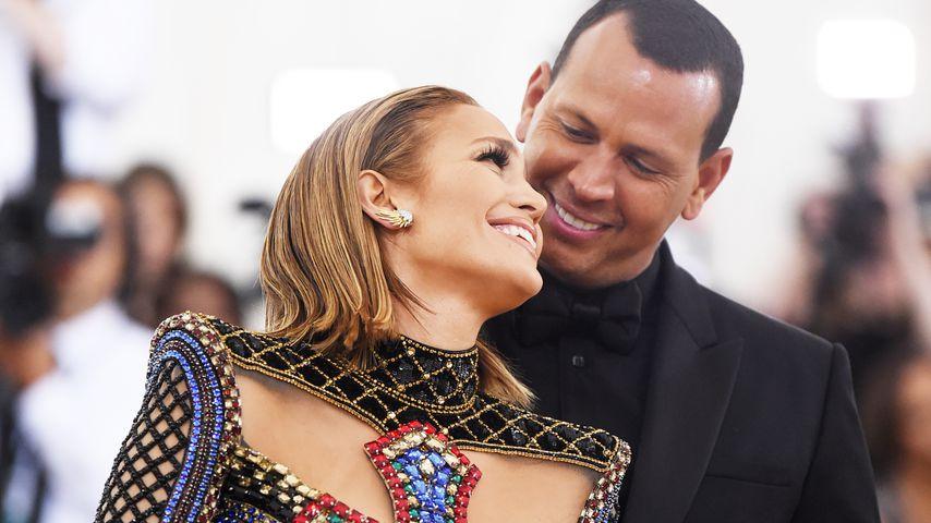 Jennifer Lopez und Alex Rodriguez bei der Met-Gala 2018