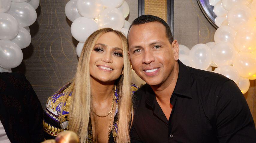 Jennifer Lopez und Alex Rodriguez bei der MTV VMA's Vanguard Award Celebration