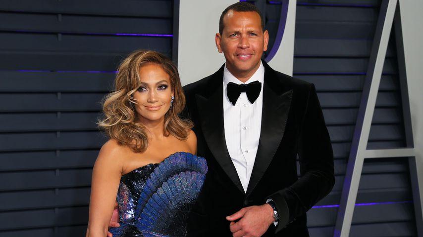 Jennifer Lopez und Alex Rodriguez im Februar 2019 in Beverly Hills