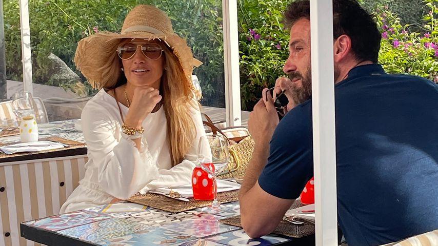 Jennifer Lopez und Ben Affleck auf Capri im Juli 2021