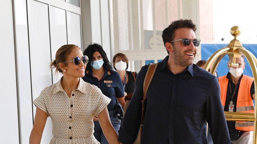 Wie süß! J.Lo und Ben beenden Venedig-Trip händchenhaltend