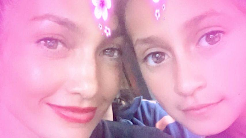 Fast 40 Jahre Unterschied: JLo & Tochter Emme sind Twins!