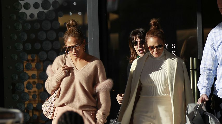 Jennifer Lopez und Leah Remini in Los Angeles