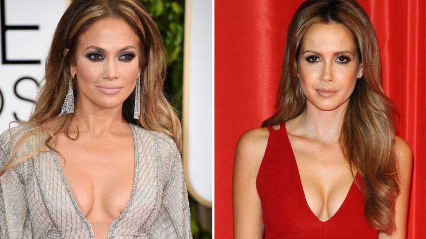 Promi-Zwillinge: Jennifer Lopez & Mandy Capristo