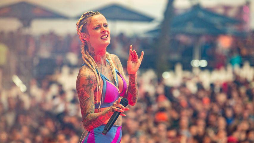 Jennifer Weist beim Musikfestival Rocco del Schlacko