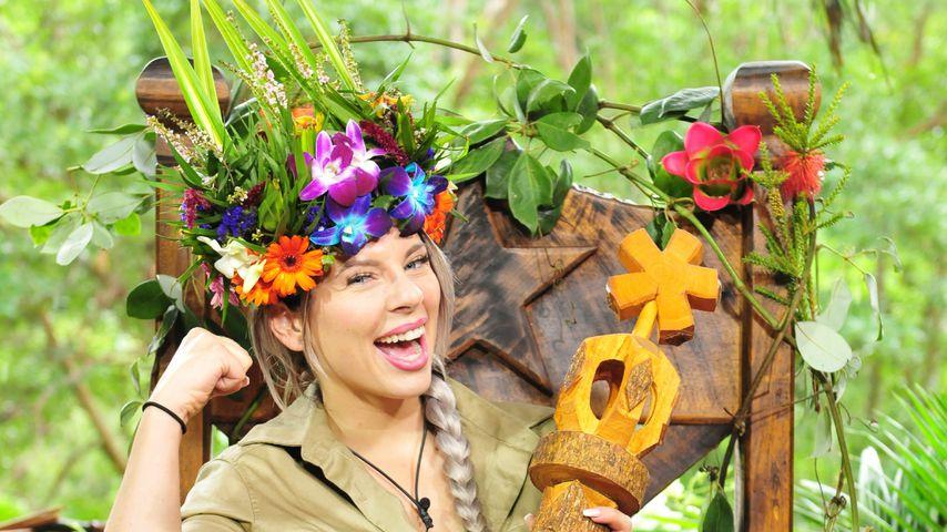 So happy: Jennys erste Fotos als strahlende Dschungelkönigin