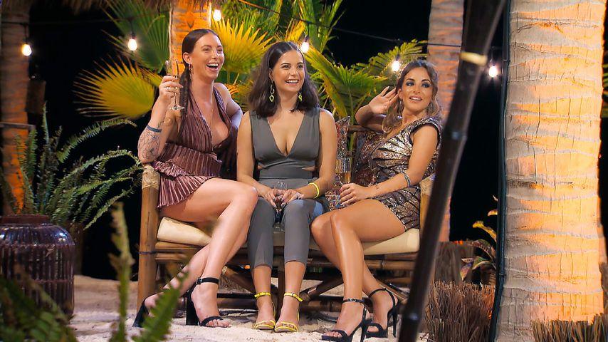 """Jenny Jasmin, Diana und Judith in der dritten Episode von """"Der Bachelor"""""""