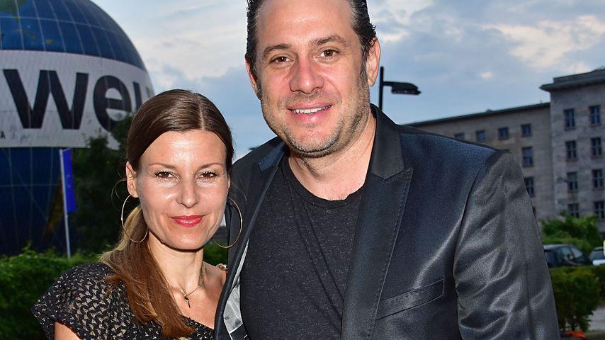 Sascha Vollmer (r.) und seine Partnerin Jenny in Berlin