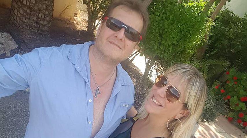 Jens Büchner mit Daniela Karabas