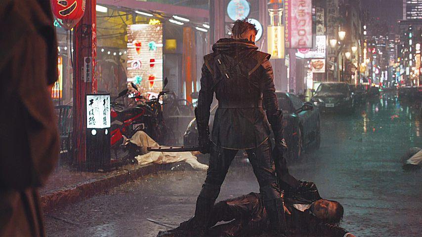 """Hawkeye-Darsteller Jeremy Renner in """"Avengers: Endgame"""""""