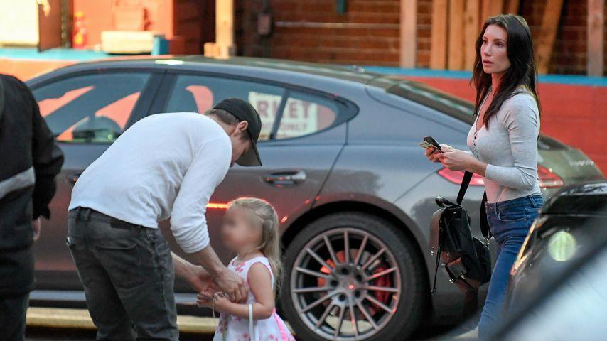 Jeremy Renner und Sonni Pacheco mit ihrer Tochter, 2017