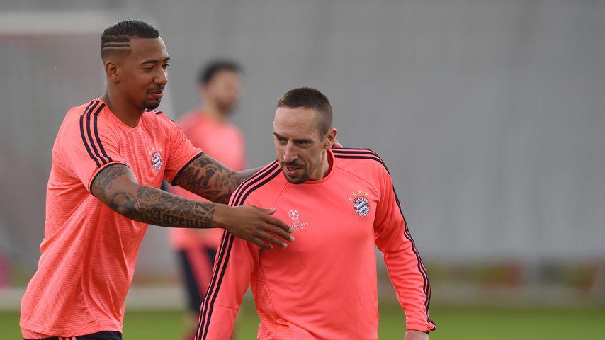 Jérôme Boateng und Franck Ribéry, Mai 2016