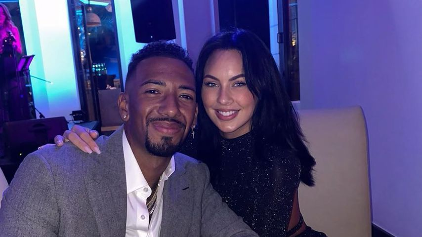 Jérôme Boateng und Kasia Lenhardt im Dezember 2019