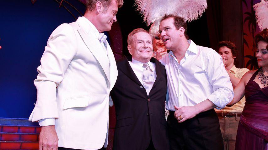 """Jerry Herman (m.) und der Cast von """"Ein Käfig voller Narren"""" 2010"""