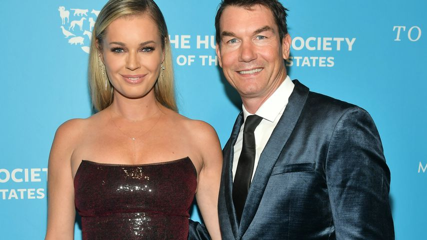 Jerry O'Connell mit Ehefrau Rebecca Romijn (l.) in New York im November 2019