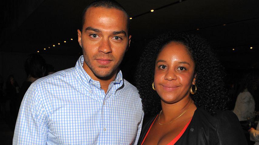 Jesse Williams und Aryn Drake-Lee bei einem Prada-Event