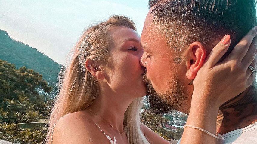 Jessi und Nik Schröder im Oktober 2020
