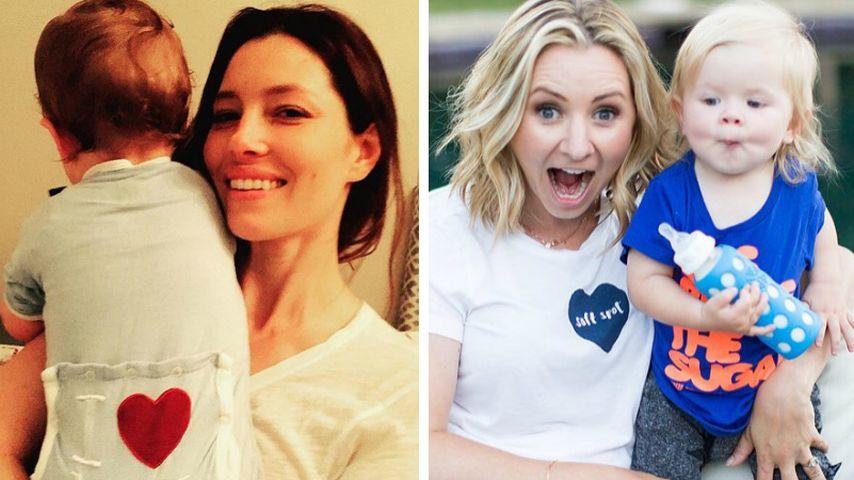 Jessica Biel & Beverley Mitchell: Ihre Söhne sind süße BFFs