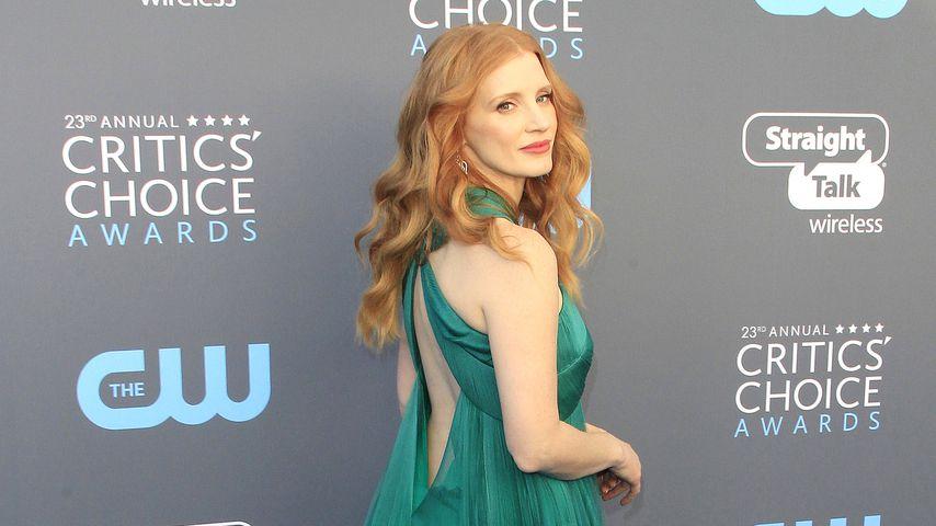 Jessica Chastain bei den Critics' Choice Awards 2018